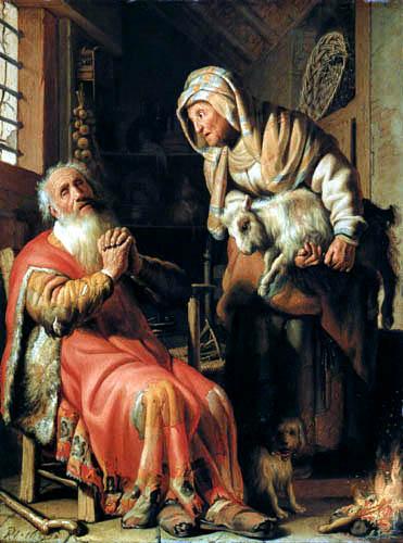 Hermansz. van Rijn Rembrandt - Tobias und Anna
