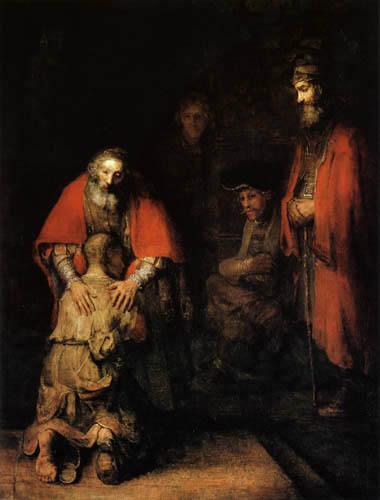 Hermansz. van Rijn Rembrandt - The Return of the Prodigal Son