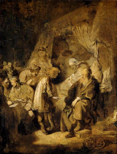 Hermansz. van Rijn Rembrandt - Joseph tells his dreams