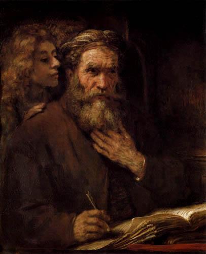Hermansz. van Rijn Rembrandt - Matthew the Evangelist