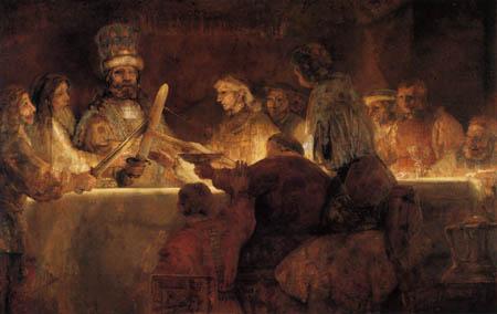 Hermansz. van Rijn Rembrandt - Complot of Claudius Civilis