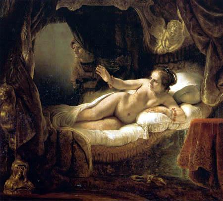 Hermansz. van Rijn Rembrandt - Danaë