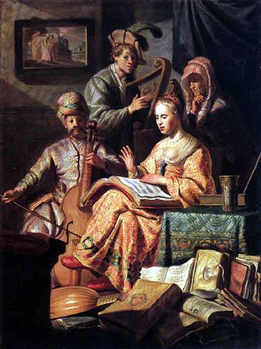 Hermansz. van Rijn Rembrandt - Musizierende Gesellschaft