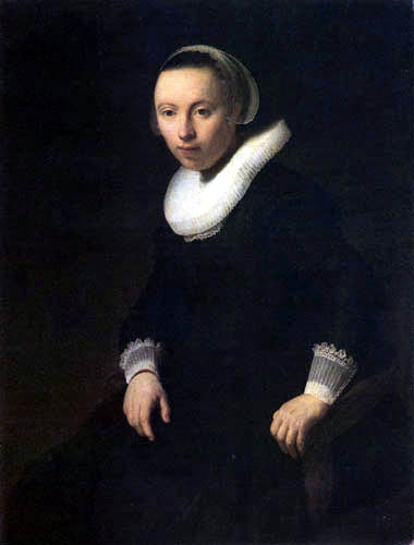 Hermansz. van Rijn Rembrandt - Portrait of a young woman in a easy chair
