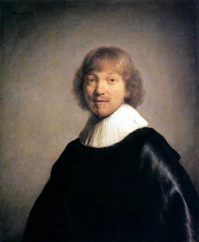 Hermansz. van Rijn Rembrandt - Portrait of the painter Jacques de Gheyn III