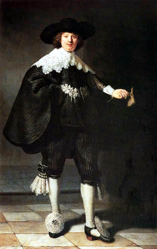 Hermansz. van Rijn Rembrandt - Portrait of Marten Soolmans