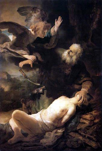 Hermansz. van Rijn Rembrandt - Abraham Sacrificing Isaac
