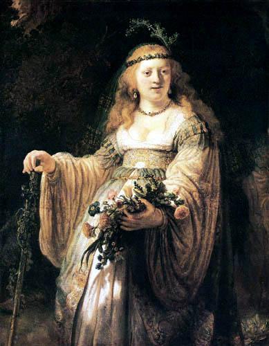 Hermansz. van Rijn Rembrandt - Flora