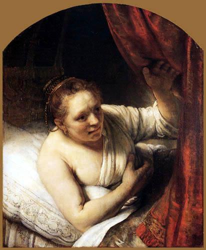 Hermansz. van Rijn Rembrandt - Young Woman
