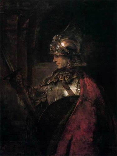 Hermansz. van Rijn Rembrandt - A warrior in his armament