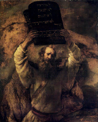Hermansz. van Rijn Rembrandt - Moses with the Tablets