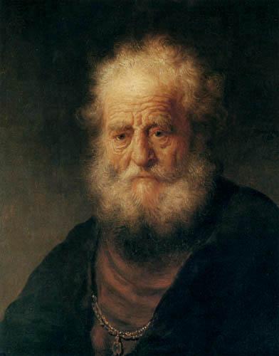 Hermansz. van Rijn Rembrandt - Greis mit goldener Kette