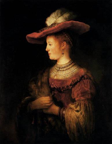 Hermansz. van Rijn Rembrandt - Saskia