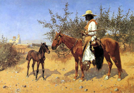 Frederic Remington - The Sentinel - Der Wächter