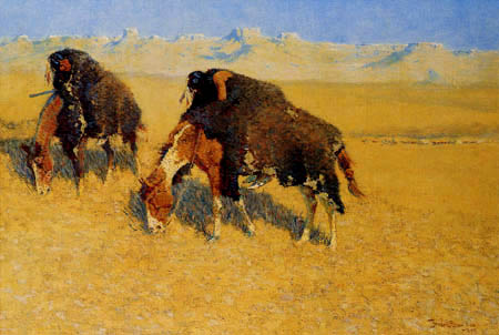 Frederic Remington - Indiens