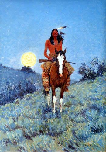 Frederic Remington - Indianer zu Pferde