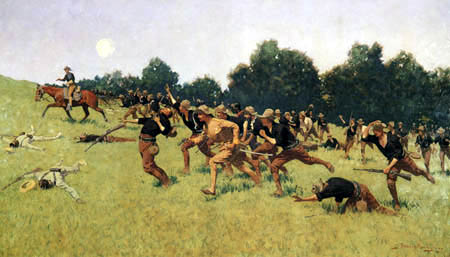 Frederic Remington - Charge of the Rough Riders at San Juan Hill