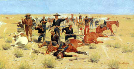 Frederic Remington - Rounded Up