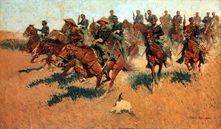 Frederic Remington - On Southern Plains