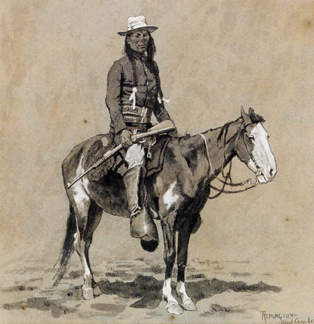 Frederic Remington - Indianer
