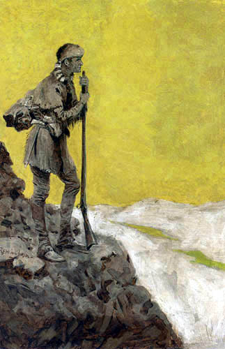 Frederic Remington - The Pioneer
