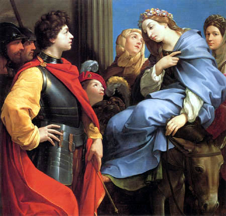 Guido Reni - David und Abigail