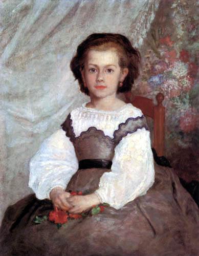 Pierre Auguste Renoir - Madmoiselle Romaine Lacaux