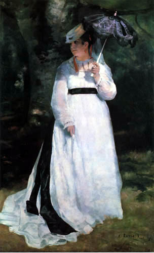 Pierre Auguste Renoir - Lise mit Sonnenschirm