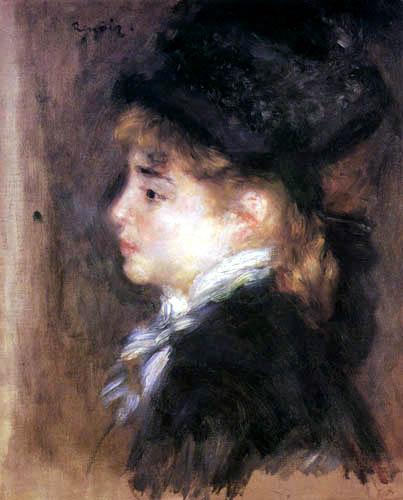 Pierre Auguste Renoir - Portrait of Margot