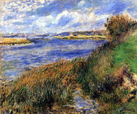 Pierre Auguste Renoir - The Seine near Champrosay