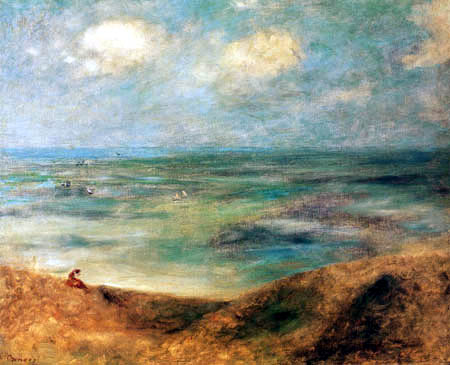 Pierre Auguste Renoir - Woman at the seacoast