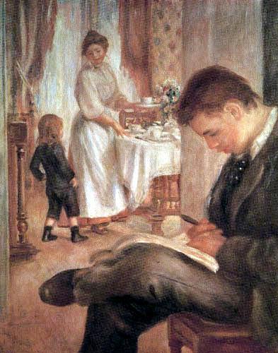 Pierre Auguste Renoir - Breakfast in Berneval