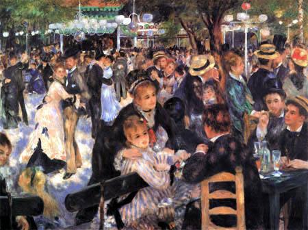Pierre Auguste Renoir - Le Moulin de la Galette