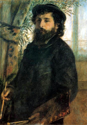 Pierre Auguste Renoir - Portrait of Monet