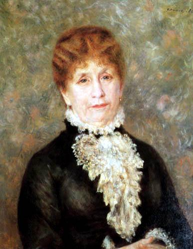 Pierre Auguste Renoir - Madame Fould