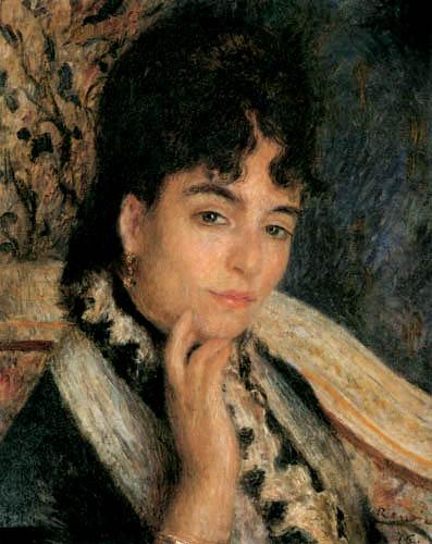 Pierre Auguste Renoir - Madame Alphonse Daudet