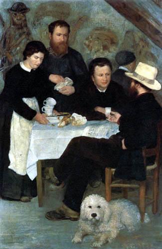 Pierre Auguste Renoir - Tavern