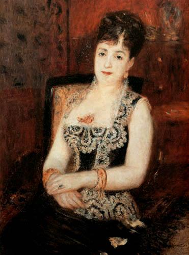 Pierre Auguste Renoir - Portrait of Comtesse de Pourtalès