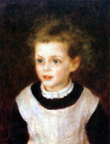 Pierre Auguste Renoir - Portrait of Marguerite Bérard