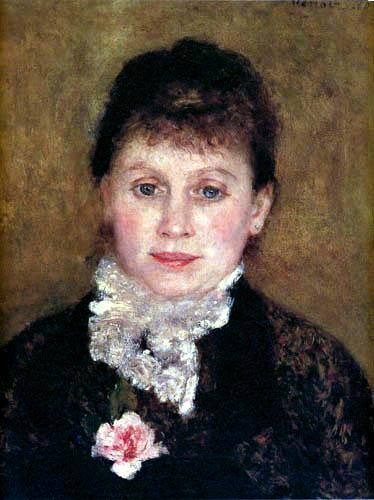 Pierre Auguste Renoir - A Lady