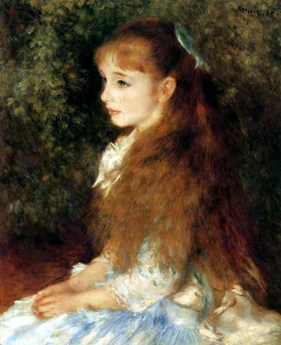 Pierre Auguste Renoir - Portrait of Irène Cahen d´Anvers