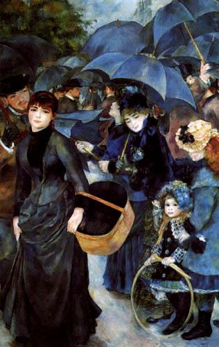 Pierre Auguste Renoir - Die Regenschirme
