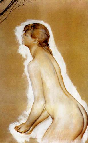 Pierre Auguste Renoir - Frauenakt, Studie