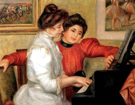 Pierre Auguste Renoir - Yvonne und Christine Lerolle