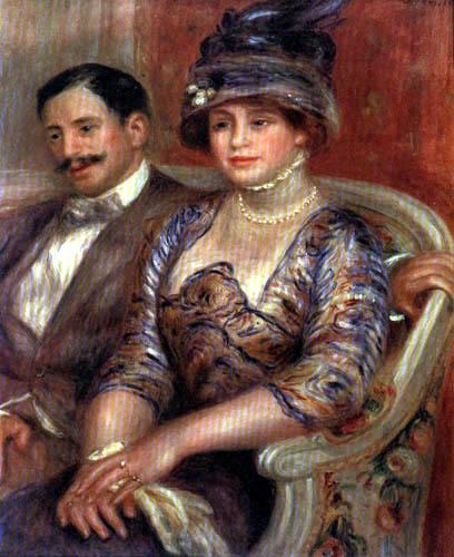 Pierre Auguste Renoir - Monsieur und Madame Bernheim de Villers