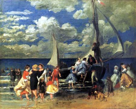 Pierre Auguste Renoir - Rückkehr vom Bootsausflug