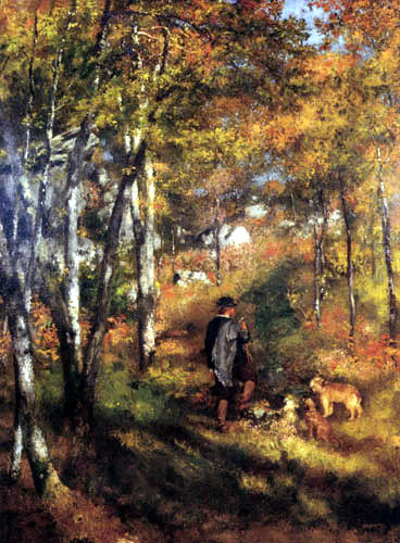 Pierre Auguste Renoir - The Painter Jules le Cœur