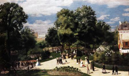 Pierre Auguste Renoir - Champs-Elysées - World Fair