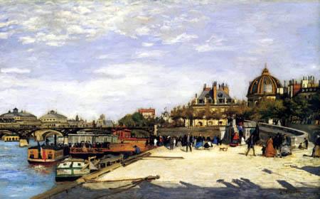Pierre Auguste Renoir - Pont des Arts, Paris