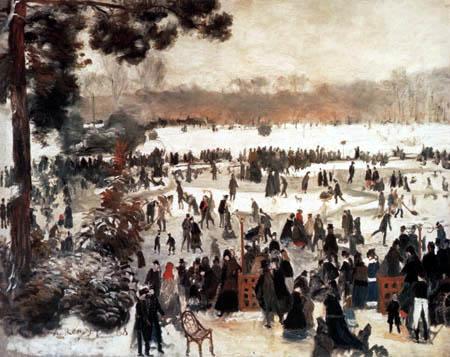 Pierre Auguste Renoir - Schlittschuhläufer